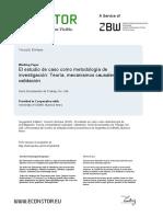 METODOLOGIA DE INVESTIGACION- ESTUDIO DE CASO