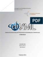 e-Business/ESTA - e-Business XML - ebXML