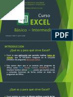 Curso - Excel - CAE - 2017-PRIMERA PARTE