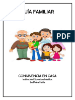Guía Didáctica - Convivencia Familiar -  Completa
