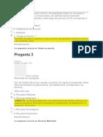evaluacion unidad 3 procesos y teorias administrativas}