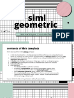 Siml Geometric Presentation by Slidesgo