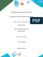 Unidad 3- Fase 5 – Propuesta Final.