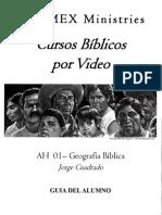 AH 01 - Geografia Biblica - A
