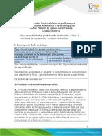 Guia de actividades y Rúbrica de evaluación - Unidad 2 - Fase 3 - Hidráulica de captaciones y pruebas de bombeo