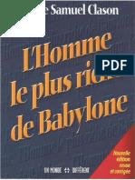 Livre 2 Homme Plus Riche Babylon-1