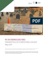 USAID Ni un Feminicidio más