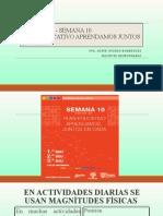 FÍSICA BGU - SEMANA 10