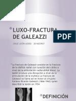 LUXO-FRACTURA DE GALEAZZI