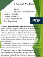 TIPOS DE AULAS NO PEA