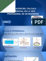 aplicacion del calculo diferencial en la vida diaria