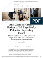 Anti-Zionist Hasidic father of 16 pays hefty price for rejecting Israel - Israel News - Haaretz.com