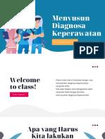Menyusun Diagnosa Keperawatan
