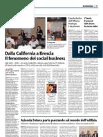 OfficinaStrategia sul Giornale di Brescia