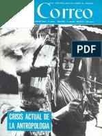 Levi - Strauss - La antropologia en peligro de muerte