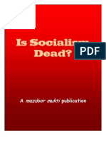 Is Socialism Dead by Mazdoor Mukti
