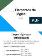 1 - Elementos de lógica parte 4 ICV