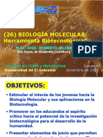 80_011206 RA026 UES Biol Molec Herramienta Biotecnologica