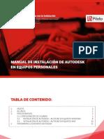 Manual Instalacion Autodesk Universidad Piloto