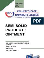 Ointment - Siti Amirah Hakimah Binti Mohd Fairuz (2062191008)