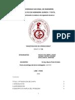 INVESTIGACIÓN DE OPERACIONES DUALIDAD Y PRECIO SOMBRA