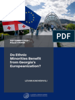 Do Ethnic Minorities Benefit from Georgia's Europeanization?