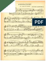 Adorazione per Organo od Armonio