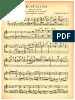 E L'Ora che pia Parafrasi del canto alla B.V. di Lourdes per Organo od Armonio