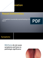Nose and Paranasal Sinuses according to new reference 2