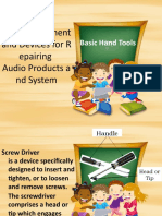1 Tools, Equipment and Devices for Repairing.pptx