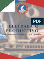 UMG- Seminario TELETRABAJO PRODUCTIVO - Maestría en Derecho del Trabajo y Admon. Empresarial