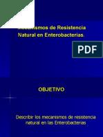 mecanismos  resistencia natural en ETB.