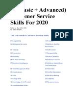 The 25 Essential Customer Service Skills.docx