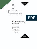 The Radio Chemistry of Copper.us AEC