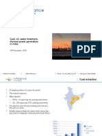 Indian Coal, Water treatment and Oil sectors, brief snapshot, InAlliance Consulting