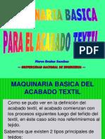 MAQUINARIA BASICA DE ACABADO TEXTIL