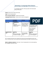 Language Arts - information for planning a lesson - Y6.docx