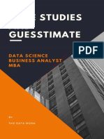 Case Studies And Guesstimates for Data Science, Business Analyst and MBA candidate.pdf