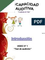 Discapacidad auditiva (disertación)