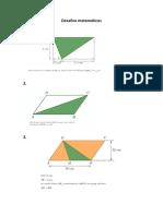Desafios matemática 5ºano áreas e perímetros