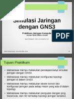 Simulasi Jaringan dengan GNS3