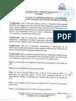 Estatuto especial para la conformación de la Comisión de Ética de la Dirección Nacional de Control de Drogas (DNCD).pdf