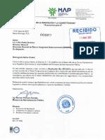 Aprobación Carta Compromiso 2019, MAP-DIGEIG