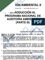 Prog Nac Auditoría Amb (Parte III)