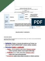 GUIA DE CASTELLANO 2 DE DORIS