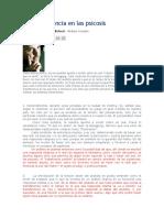 Belucci - La transferencia en las psicosis