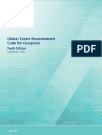 Global Estate Measurement Code for Occupiers -2013