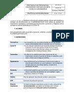 Protocolo FLUOROPLASTICOS