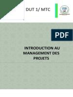 Introduction au Management des Projets