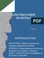 fractures de rotule